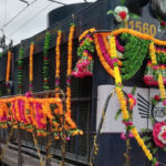 Prabhu Flags Off New Weekly Express Train From Indore to Guwahati