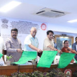 Suresh Prabhu Launches Two train Services From Bhubaneswar & Bhopal