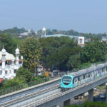 KMRL Starts Trial Run Between Palarivattom & Maharaja's College Stations