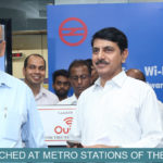 DMRC Launches 'High Speed Free Wi-Fi' facility at Blue Line Metro stations