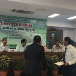 "Minister of Railways was the Chief Guest at Exchange of Agreement with Stakeholders as part of ""Mission Electrification"" & ""First EPC "" contract of Indian Railways"