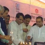 Suresh Prabhu & Devendra Fadnavis lays foundation stone to develop Cold Storage Warehouse for onion at Lasalgaon