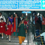 4th Escalator inaugurated at Rabindra Sadan Metro Station