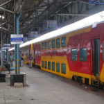 Coimbatore-Bangalore Double Decker Train Trial Run Conducted