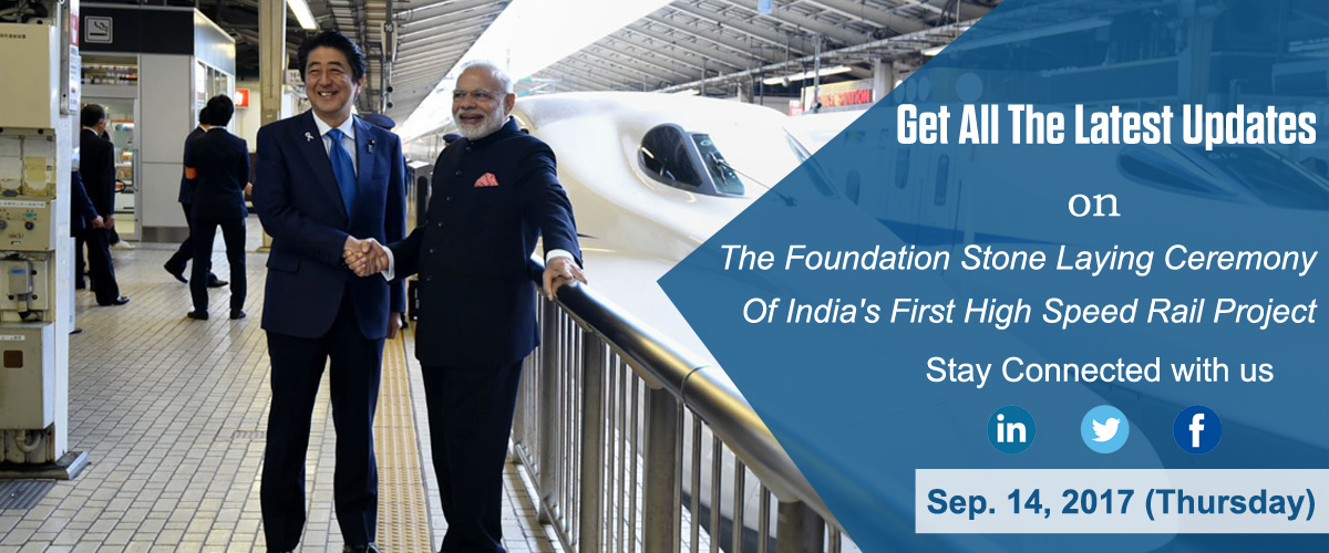 India's First High Speed Rail Live Updates