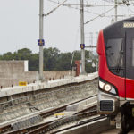 Lucknow Metro Rail Gets Its 7th Set Of Train Coaches At Transport Nagar Metro Depot