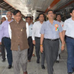Chairman Railway Board Sh. Ashwani Lohani inspects New Delhi Railway station