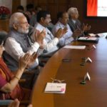 PM Narendra Modi and Bangladesh PM Sheikh Hasina jointly inaugurate two railway projects