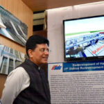 Railway Minister Piyush Goyal Inspects Redevelopment Progress of Habibganj Station