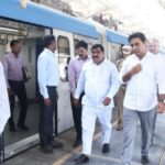 Hyderabad Metro Update: Inspection of Hyderabad Metro Works Between Ameerpet & LB Nagar carried out