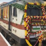 Minister of State for Railways Rajen Gohain Flags Off Uday Express Double Decker Train Between Coimbatore & Bengaluru