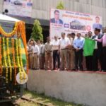 First BHEL-built 6,000 HP Electric locomotive (Type WAG-9H) flagged-off