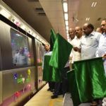 Bangalore Metro Update: Chief Minister HD Kumaraswamy Flags Off Second 6-Coach Metro Train