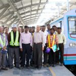 Hyderabad Metro Update: CEIG inspects Overhead Electric Traction System (OETS) between Ameerpet and Hitech City