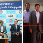 Hyderabad Metro Update: Skywalk Connecting Punjagutta Metro Station with Mall Inaugurated