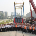 LMRC Receives 20th & The Last Metro Train Set In Its Depot