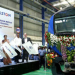 Final train of Chennai Metro's phase-1 project flagged off from Alstom Factory at Sri City